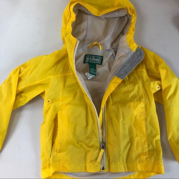 f2d9aa190 L.L. Bean Other - LL Bean | Kids Discovery Yellow Hooded Rain Jacket